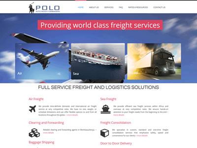 Transport Company Web Design