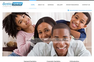 Hospital website design